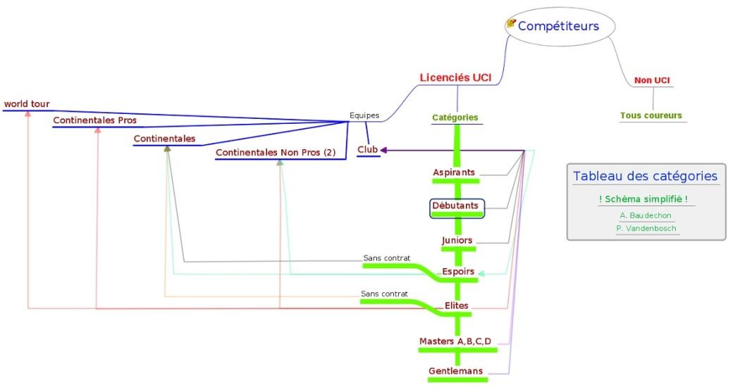 Schéma catégories colmpétiteurs
