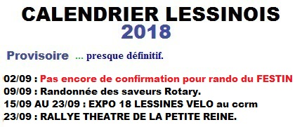CALENDRIER LESSINOIS 2018 200