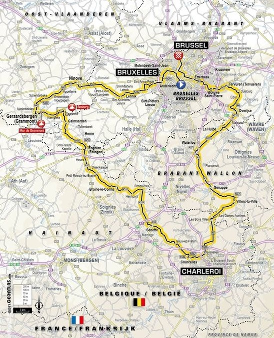 2019 1ere étape Tour de France