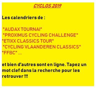 cyclos 2019
