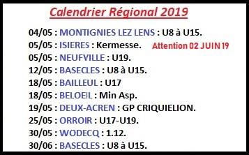 Régional 2019 proches Lessines 2