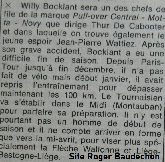 willy bocklant 2020