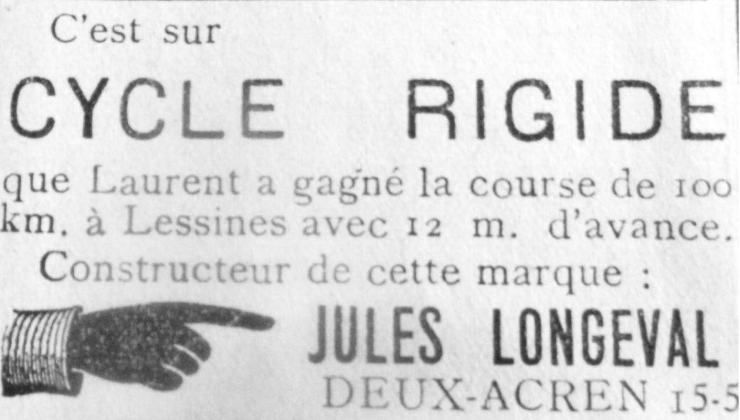 jules longeval deux-acren 1920